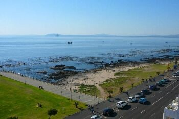 Mouille Point, close to the Cape Town Stadium and the start of the Sea Point Promenade, Cape Town\'s Atlantic Seaboard, Western Cape